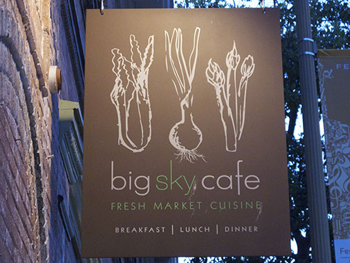 Big Sky Cafe in SLO