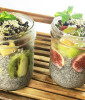 Superfood Chia Breakfast Parfaits